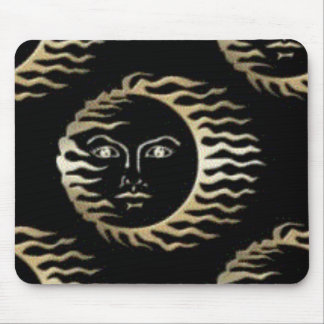 floating sun mouse pad