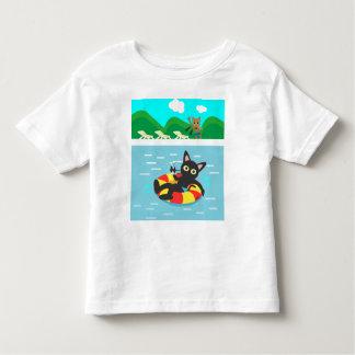 Floating T-shirts