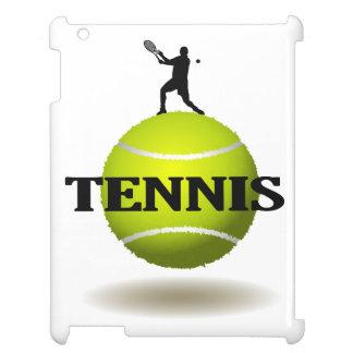 Floating Tennis Badge iPad Case