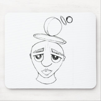 Floating Thoughts Mouse Pad