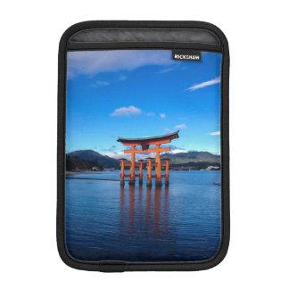 Floating Torii, Itsukushima Shrine, Miyajima Japan Sleeve For iPad Mini