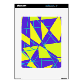 Floating Triangles iPad Decal
