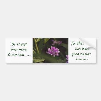 Floating Wildflower Bumper Stickers