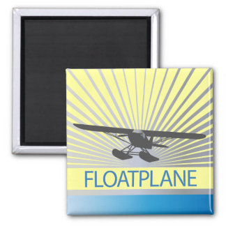 Floatplane 2 Inch Square Magnet