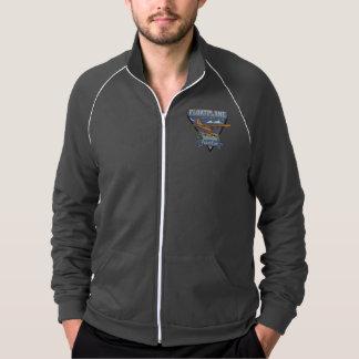 Floatplane Aviation Adventure American Apparel Fleece Track Jacket