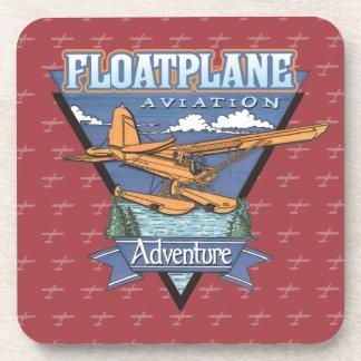 Floatplane Aviation Adventure Beverage Coaster