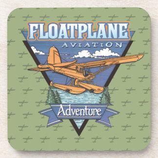 Floatplane Aviation Adventure Drink Coaster