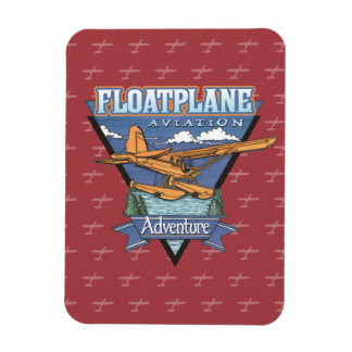 Floatplane Aviation Adventure Magnet