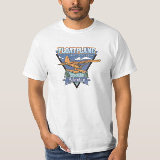 Floatplane Aviation Adventure T-Shirt