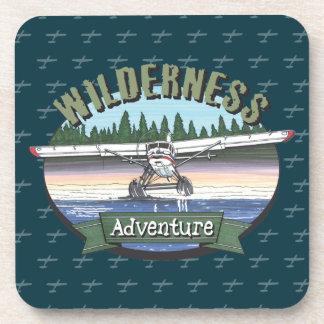 Floatplane Aviation Wilderness Adventure Beverage Coaster