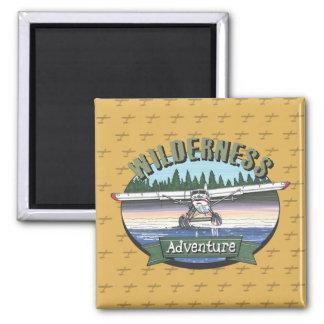 Floatplane Aviation Wilderness Adventure Magnet