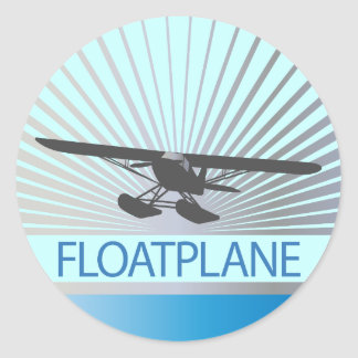 Floatplane Classic Round Sticker