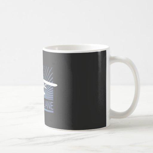 Floatplane Classic White Coffee Mug