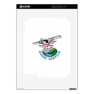 Floatplane Guide Service Decal For iPad 2