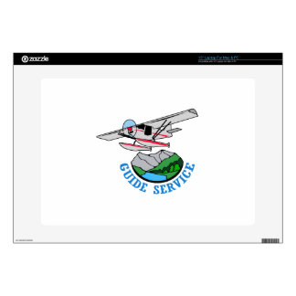 Floatplane Guide Service Decals For Laptops