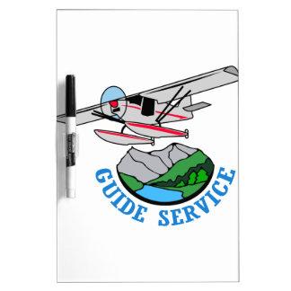 Floatplane Guide Service Dry-Erase Board