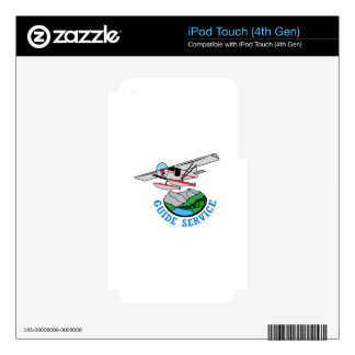 Floatplane Guide Service iPod Touch 4G Skin