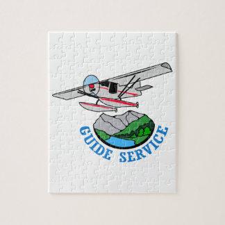Floatplane Guide Service Jigsaw Puzzle
