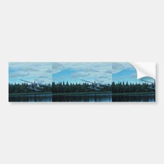 Floatplane Landing Bumper Sticker