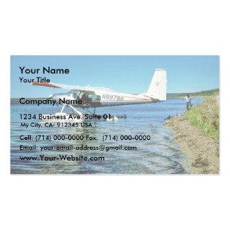 Floatplane N99798 on Graphite Lake Business Card Templates
