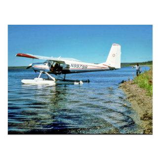 Floatplane N99798 on Graphite Lake Postcard