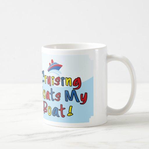 Floats My Boat Clasic White Mug