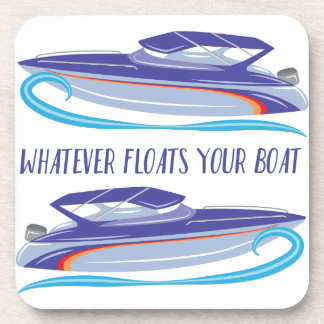 Floats Your Boat Beverage Coaster