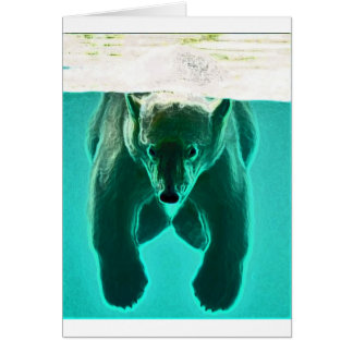 Floaty Beart Greeting Card