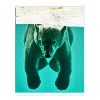 Floaty Beart Postcard