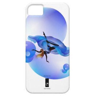 floaty blue whirlpool iPhone SE/5/5s case