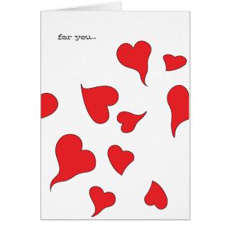 Floaty, Dizzy, Woozy, Wavy Funny Valentine Photo Card