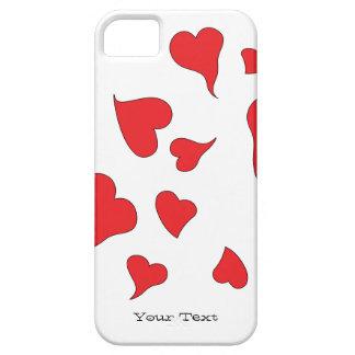 Floaty, Dizzy, Woozy, Wavy Hearts iPhone SE/5/5s Case