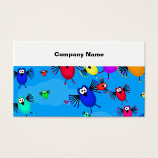 Flock of Birds Business Card