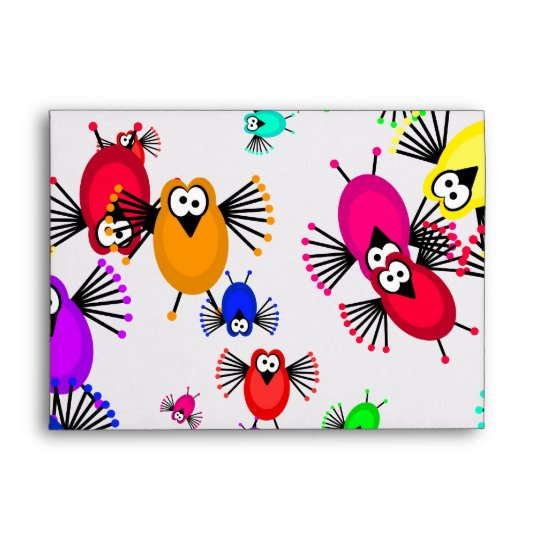 Flock of Birds Envelope