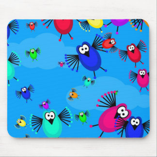 Flock of Birds Mouse Pad