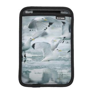 Flock of Black-legged Kittiwakes iPad Mini Sleeve