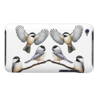 Flock of Chickadees iPod Touch Case