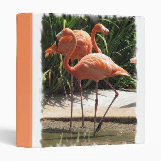 Flock of Flamingos Binder