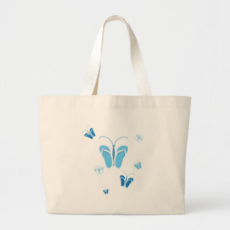 Flock of Flops Canvas Bags
