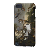 Flock of musical birds painting iPod touch (5th generation) case