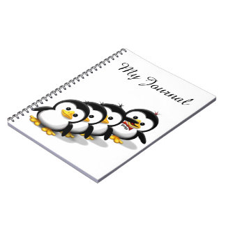 Flock of Penguins Notebook