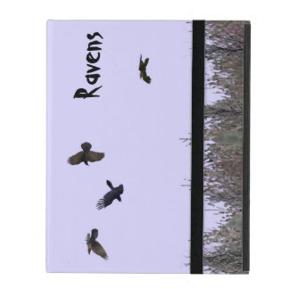 Flock of Ravens iPad Case