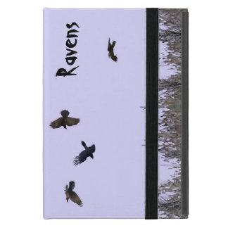 Flock of Ravens iPad Mini Cover