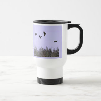 Flock of Ravens Travel Mug