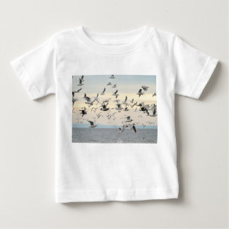 Flock of Seagulls Photo Baby T-Shirt