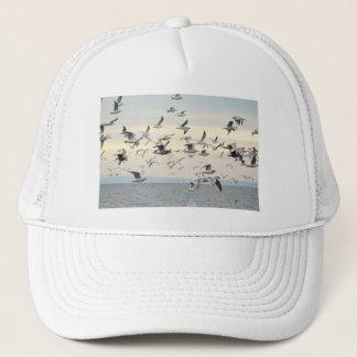 Flock of Seagulls Photo Trucker Hat