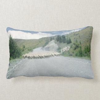 Flock of Sheep- Farm Animal Rustic Decor Lumbar Pillow