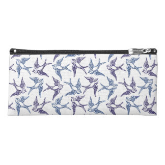 Flock of Sketched Birds Pencil Case
