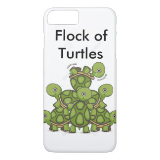 Flock of Turtles iPhone 7 cover