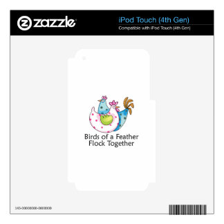 Flock Together iPod Touch 4G Skin